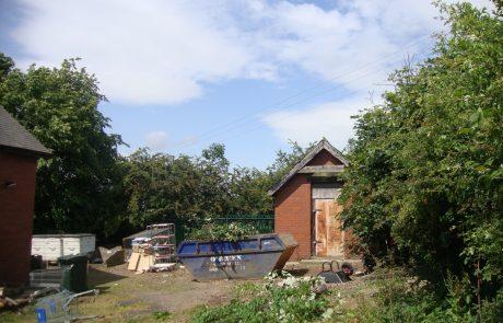 Original Garden Area