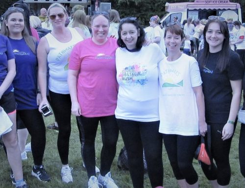 """Team Pathways"" take on the Newcastle Colour Rush 2019"