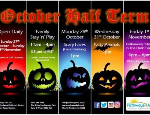October Half Term Activity Programme
