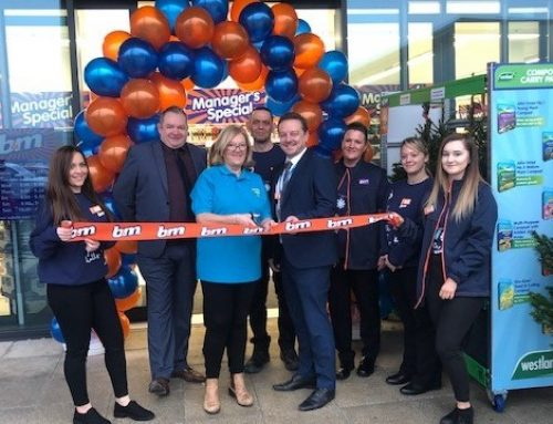 Grand Opening Of B&M Stores, Northumberland Retail Park