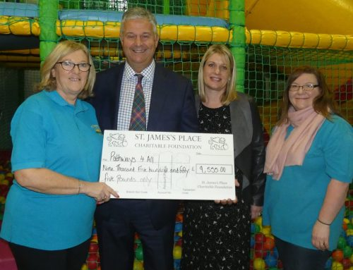 We're 'All In' Thanks to St James's Place Charitable Foundation