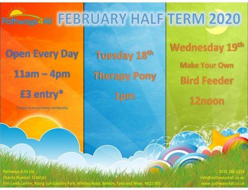 February Half Term Activity Programme