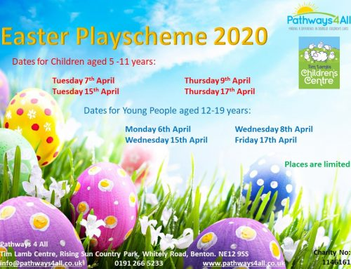 Apply for a Playscheme Place Now!