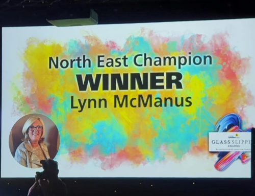Delight as our Charity Founder is named North East Champion