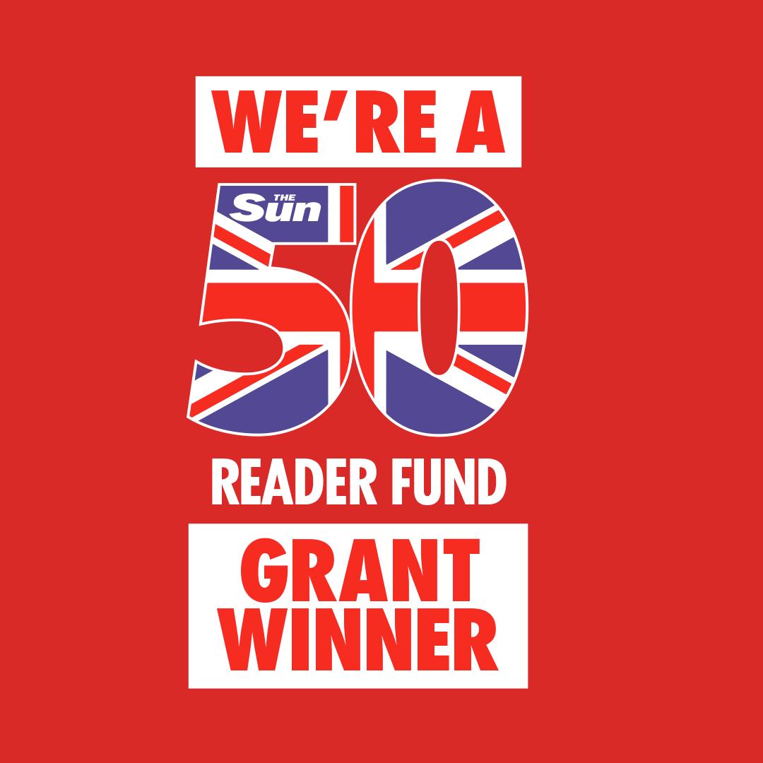 We're A Sun50 Reader Fund Grant Winner