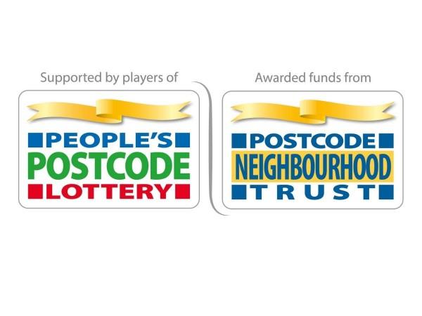 People's Postcode Lottery and Postcode Neighbourhood Trust logos