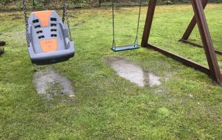 Waterlogging under inclusive swing